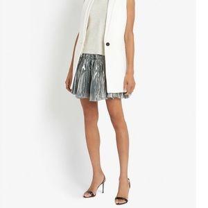 NEW • Faith Connexion • Lame Metallic Mini Skirt